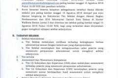 PENGUMUMAN - Tentang seleksi terbuka Calon Direktur BUP PT.Pelabuhan Batam Indonesia Periode 2018-2023